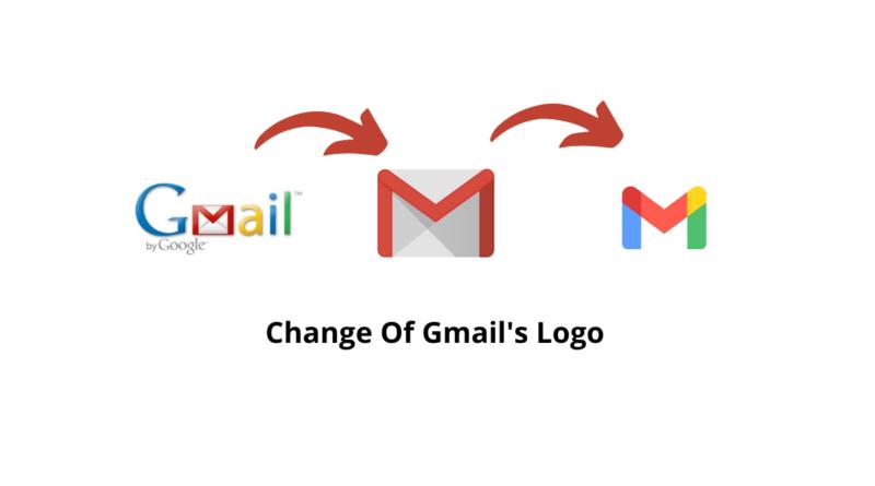 Gmails Logo change History